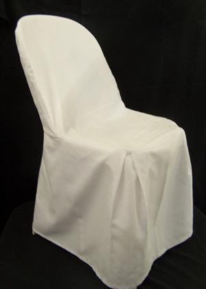 Chair Cover - White Butchers Linen