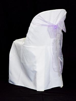 Chair Sash - Lilac Organza
