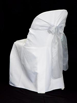Chair Sash - White Organza